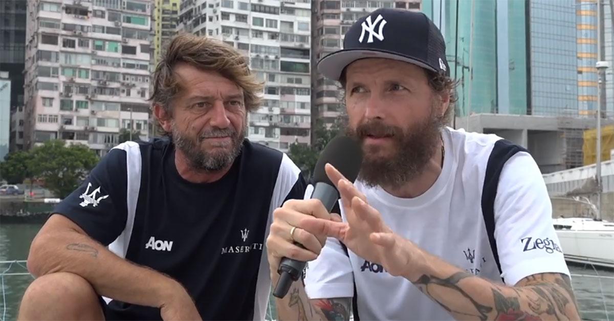"""Soldini porta Jovanotti in regata con lui: """"L'oceano è pieno di rifiuti, abbiamo avuto tre collisioni"""""""