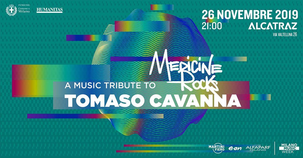 Medicine Rocks, l'evento a Milano per ricordare Tomaso Cavanna. Sul palco anche Jovanotti