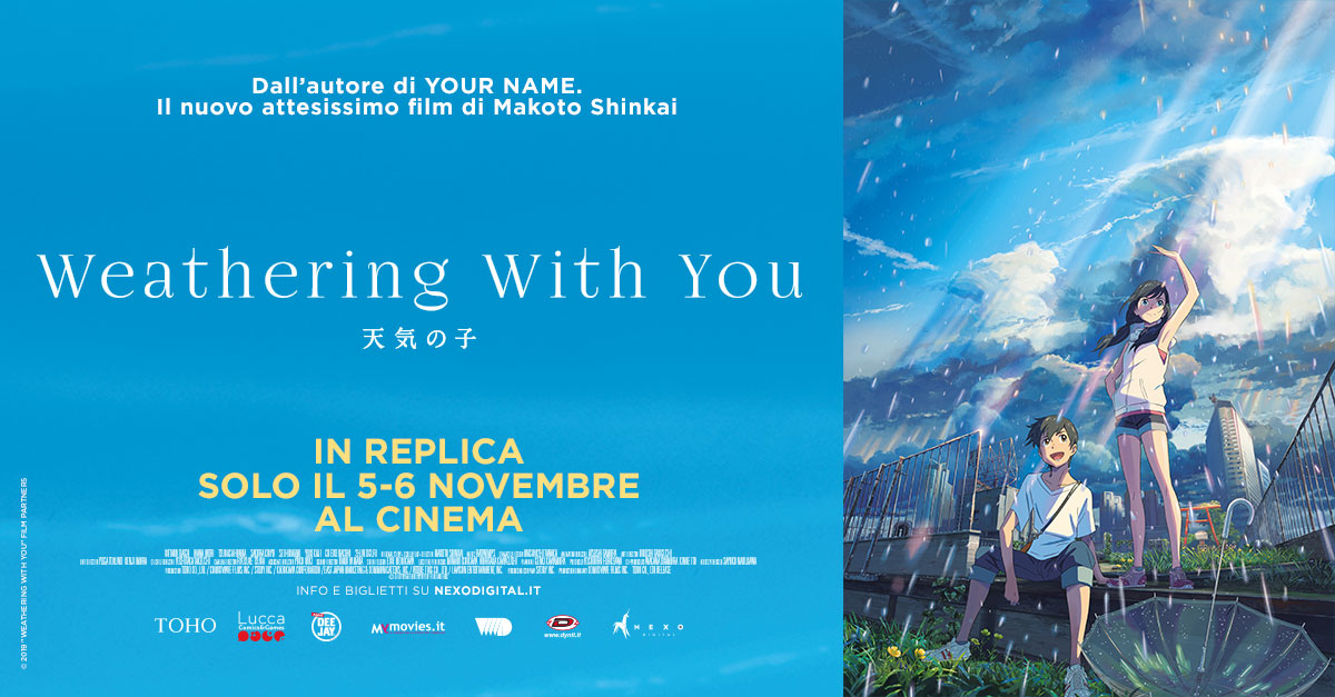 Weathering with you torna al cinema solo il 5 e 6 novembre