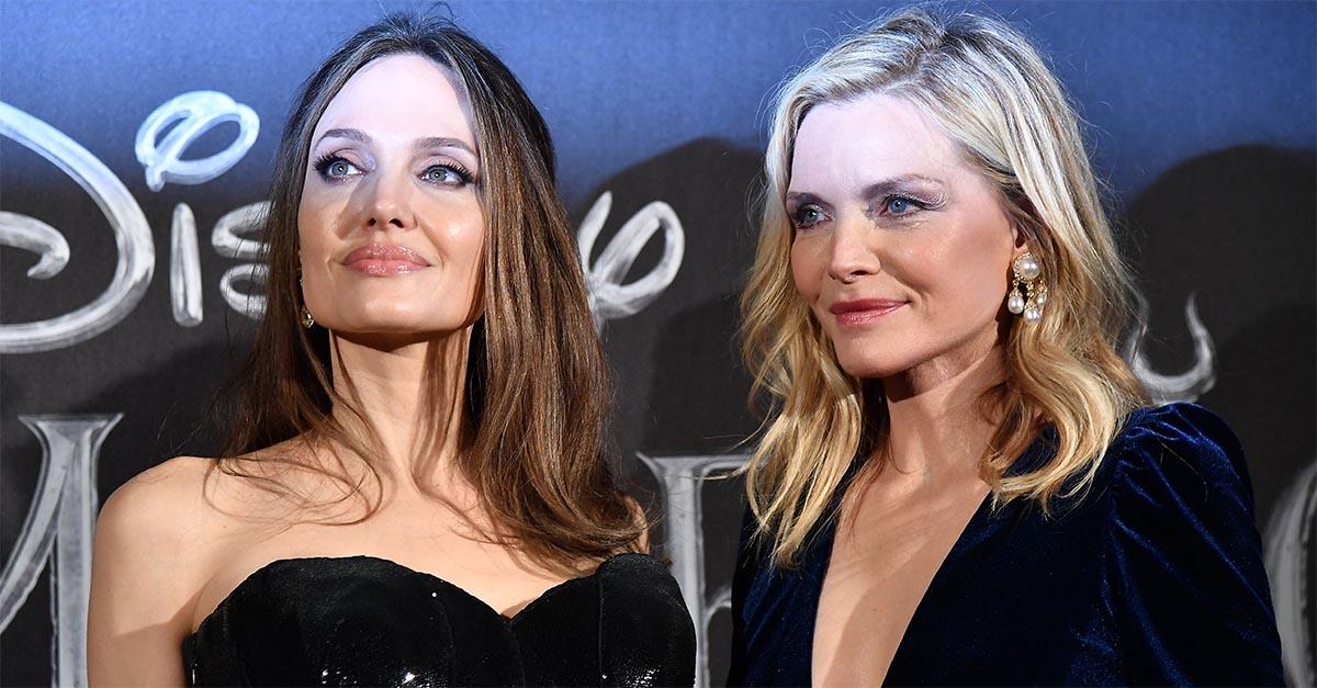 Angelina Jolie e Michelle Pfeiffer a Roma per l'anteprima europea di Maleficent 2