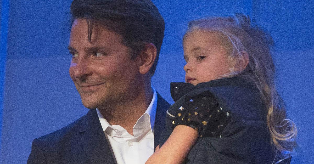 Bradley Cooper, la prima uscita pubblica con la figlia Lea