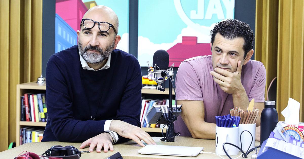 """""""L'uomo del labirinto è un film con 5 finali"""", Carrisi e Marchioni a Deejay chiama Italia"""