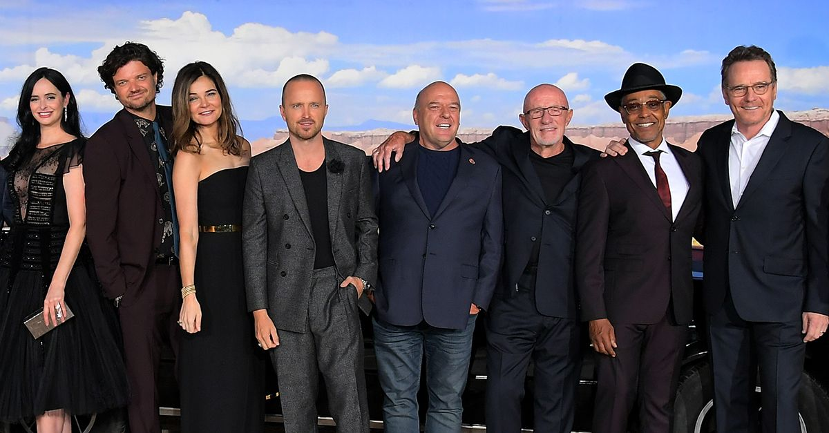 Ecco la reunion del cast di 'Breaking Bad' per la première del film 'El Camino'