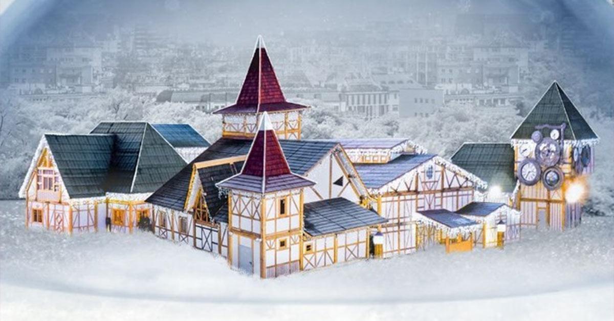 Villaggi Di Natale In Italia.A Milano Arriva Il Villaggio Di Babbo Natale Piu Grande D