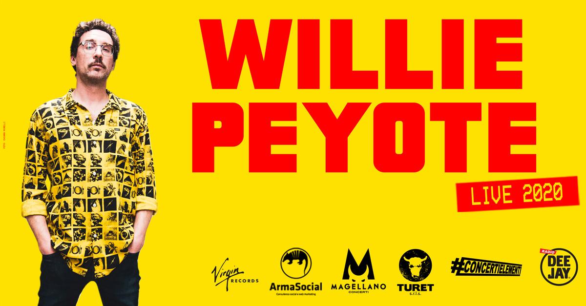 Willie Peyote, il nuovo fenomeno della musica italiana, ritorna in tour a febbraio