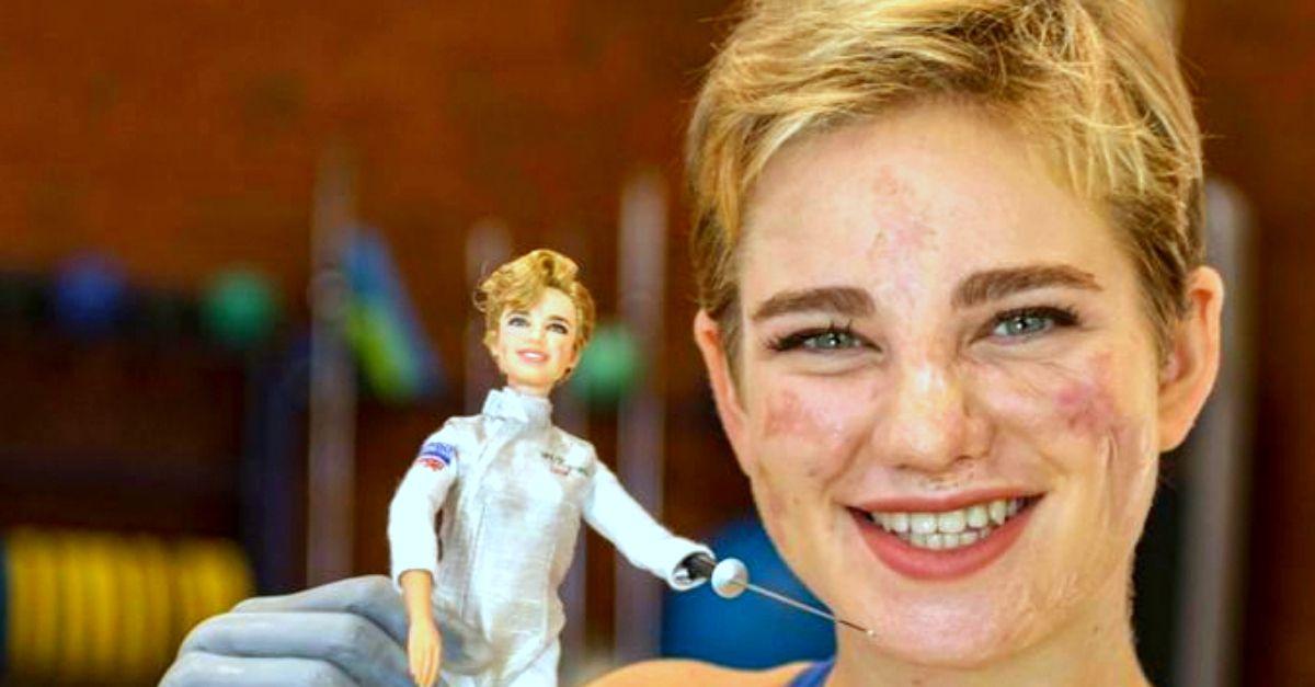 """Bebe Vio diventa una Barbie per ispirare le bambine e combattere il """"Dream Gap"""""""