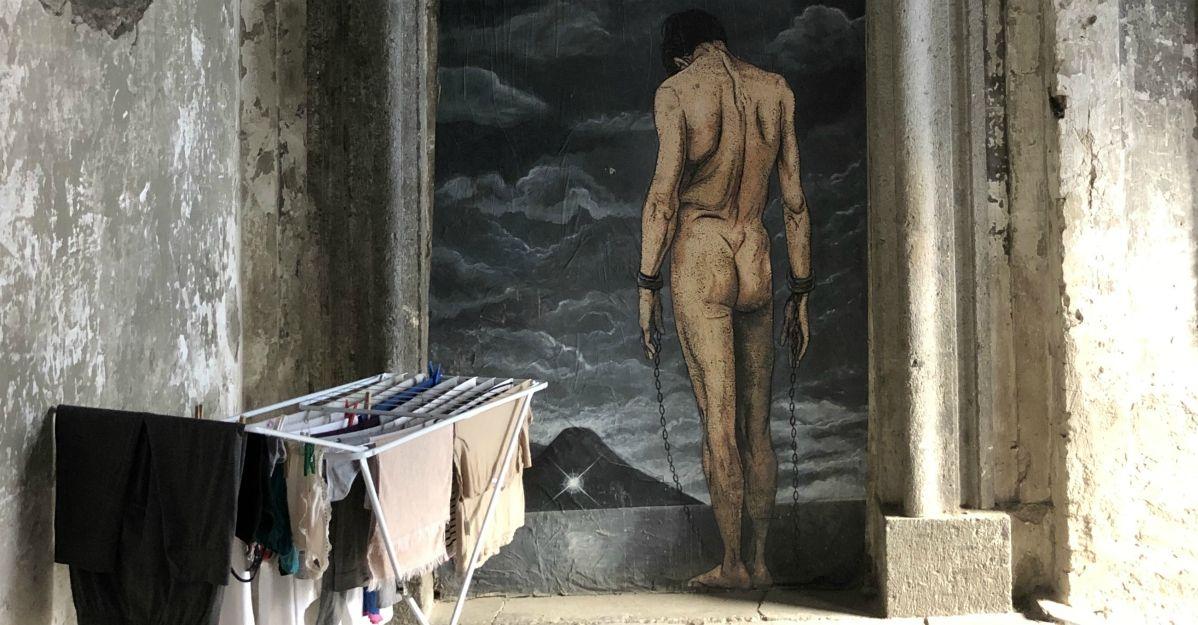 A spasso per Napoli con Gianluca Vitiello: foto in mostra all'aeroporto di Capodichino