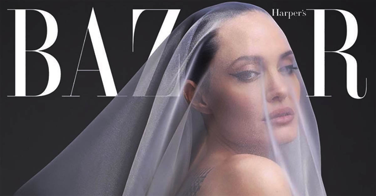 """Angelina Jolie posa nuda a 44 anni, con le sue """"cicatrici visibili e invisibili"""""""