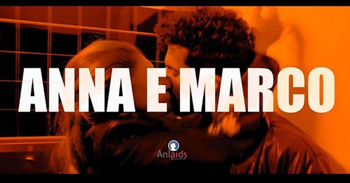 """""""Anna e Marco"""", il corto di Anlaids per l'importanza di una sessualità consapevole"""
