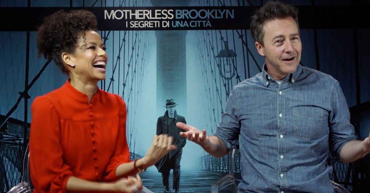 Motherless Brooklyn: il film di Edward Norton tra jazz e Thom Yorke. L'intervista