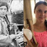"""""""Greta è una viaggiatrice del tempo"""": una foto di 120 anni fa scatena la folle teoria in rete"""