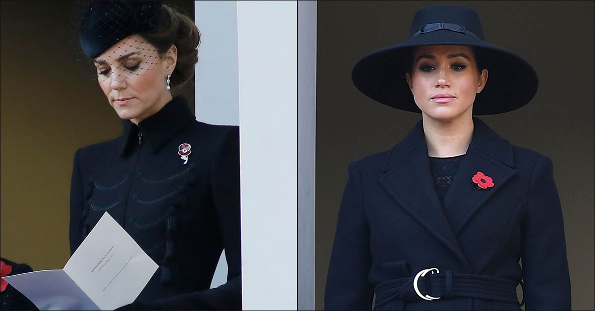 Remembrance Day, Meghan e Kate in due balconi separati: ecco perché