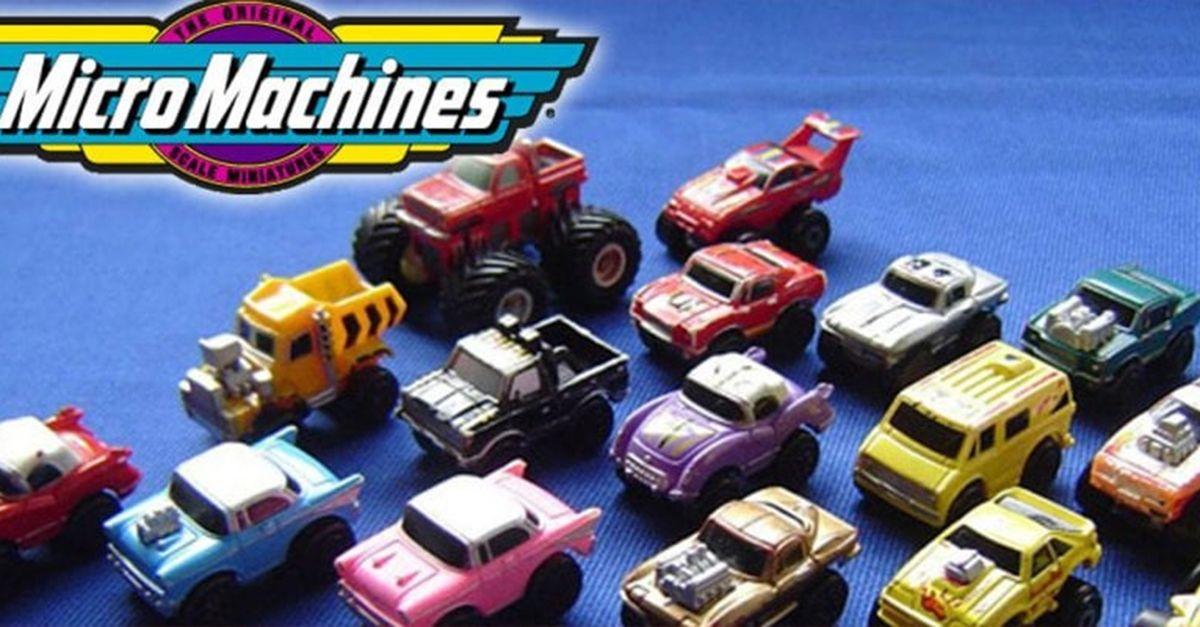 Tornano le Micro Machines: la nuova gamma pronta ad uscire nei negozi