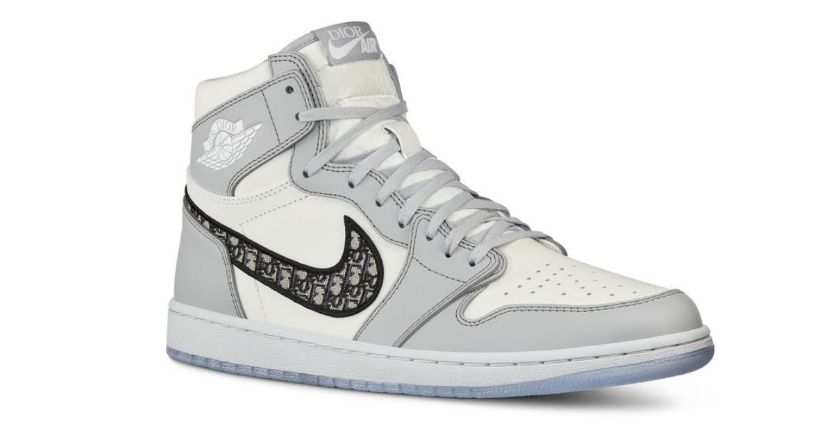 """Air Jordan e Dior uniscono le forze per una sneaker """"Made in Italy"""" in edizione limitata"""