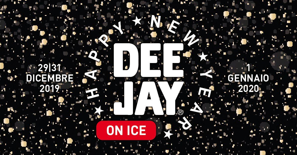 DEEJAY ON ICE, Happy New Year con Radio DEEJAY a Riccione