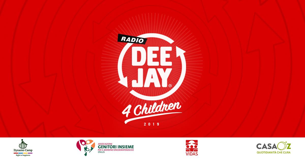 Deejay for Children: la nostra asta benefica