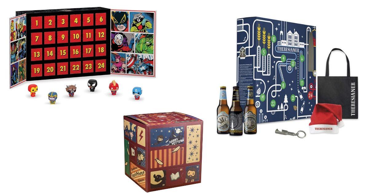 Dalla birra a Harry Potter, i calendari dell'avvento per Natale 2019