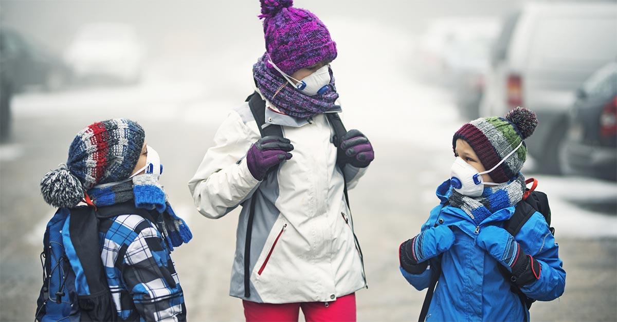 Inquinamento e bambini, l'aria che respirano determina (anche) la loro capacità di apprendimento