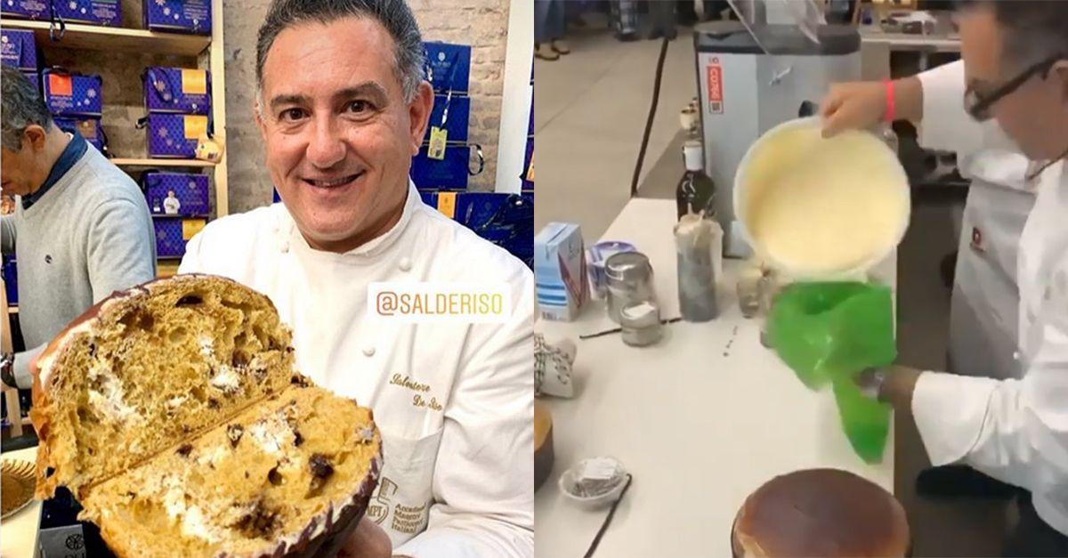 """Sal De Riso: """"Ecco la mia ricetta per il panettone al tiramisù"""""""