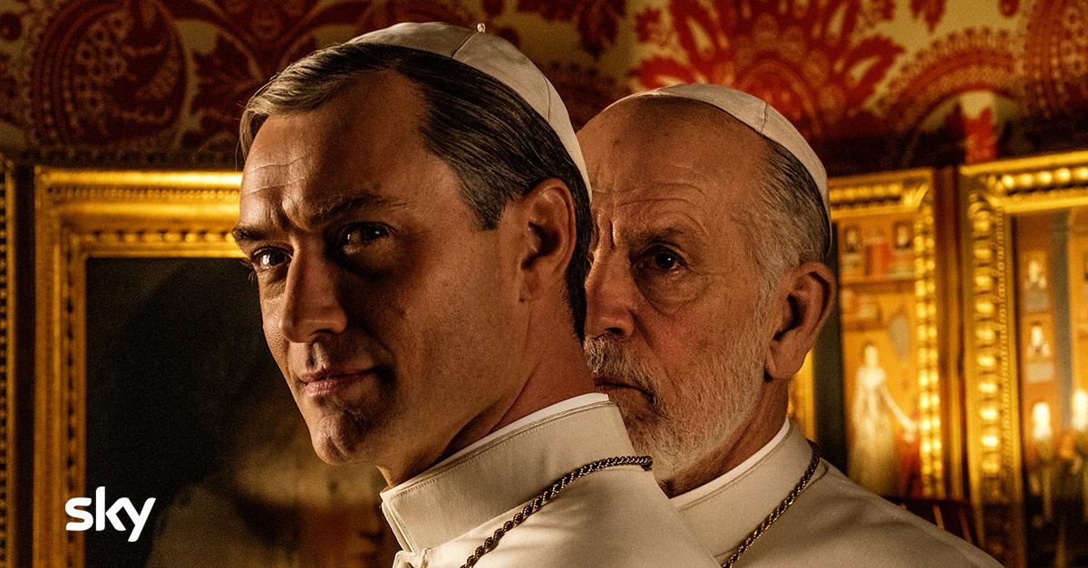 The New Pope, la serie di Paolo Sorrentino arriva su Sky il 10 gennaio