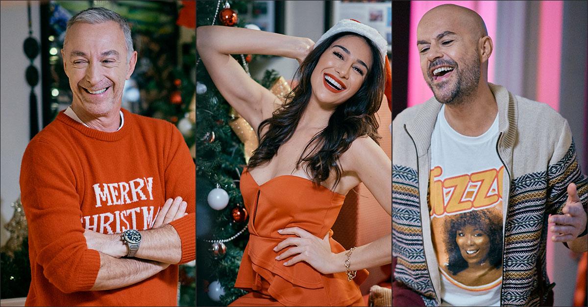 """Sul set del video della canzone di Natale: le foto backstage di """"Per un milione di auguri"""""""