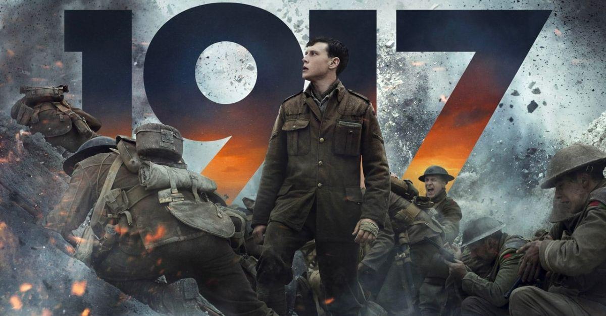 1917, il film di guerra rivale di Tarantino agli Oscar