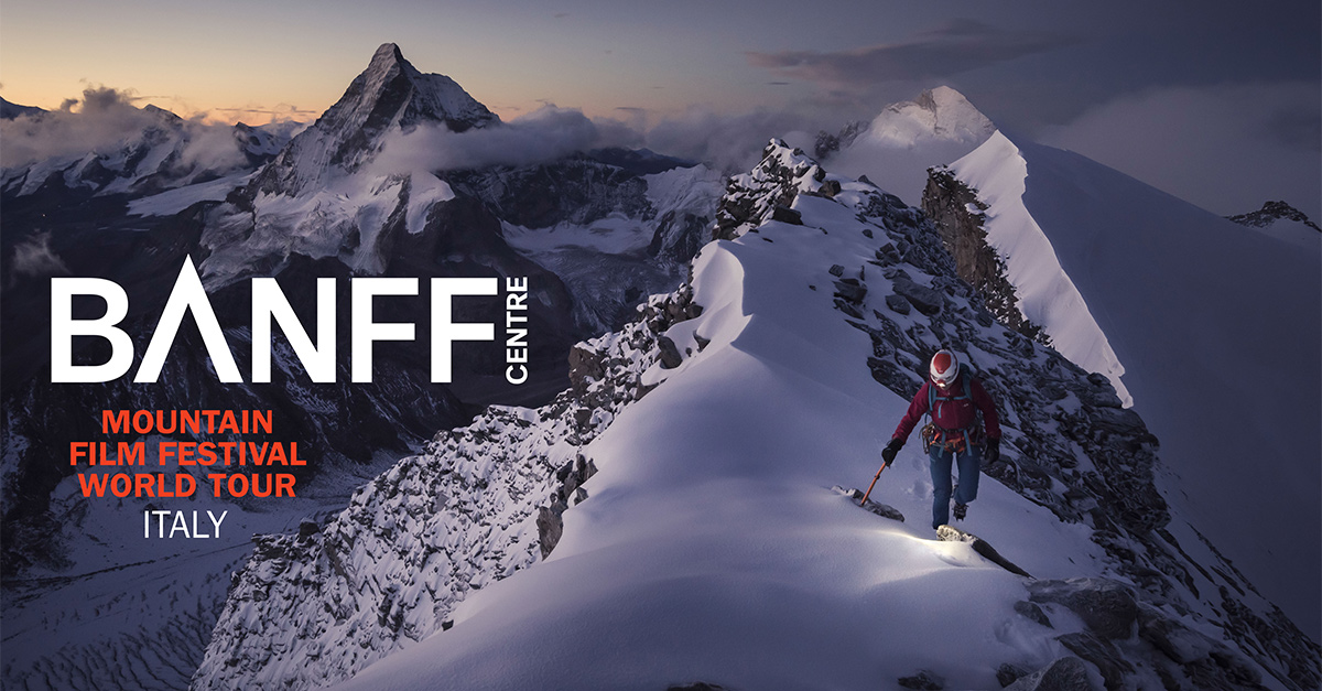 BANFF Mountain Film Festival: torna al cinema con 41 date in 35 città e incredibili avventure outdoor!