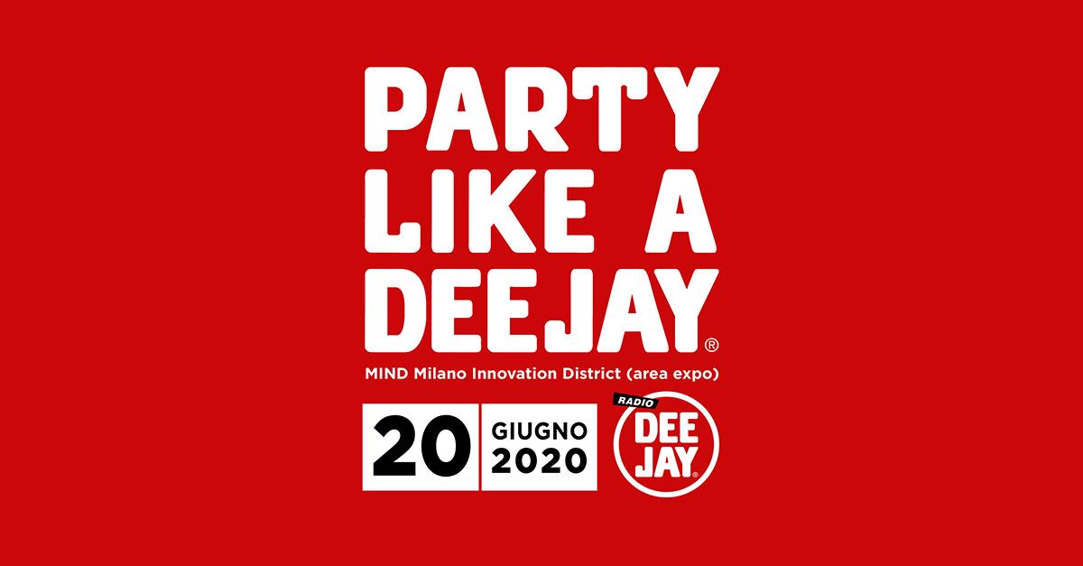 """Torna """"Party Like a Deejay"""", la festa lunga un giorno: appuntamento a Milano il 20 giugno"""