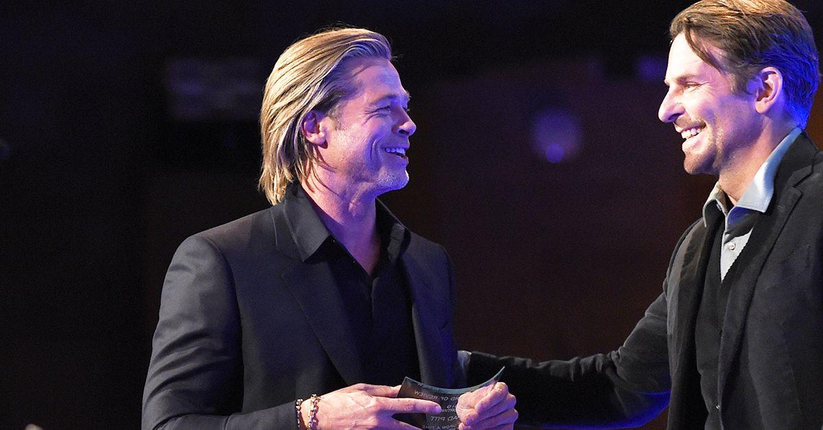"""Brad Pitt ringrazia l'amico Bradley Cooper: """"Sono sobrio grazie a te"""""""