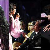 """Grammy Awards, Camila Cabello dedica """"First Man"""" al padre seduto in prima fila"""