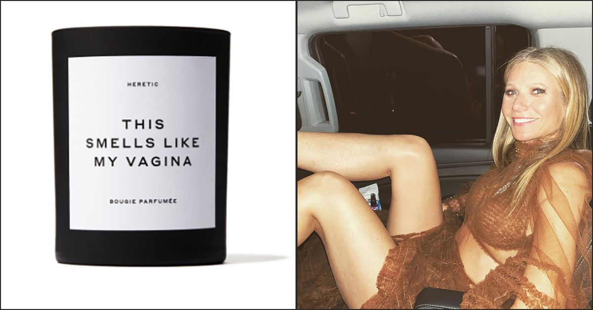"""Gwyneth Paltrow lancia una candela che """"odora come la sua vagina"""" ed è subito sold out (e polemica)"""