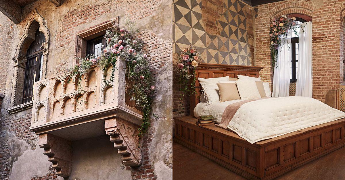 Per San Valentino potete dormire una notte nella Casa di Giulietta: ecco come prenotare