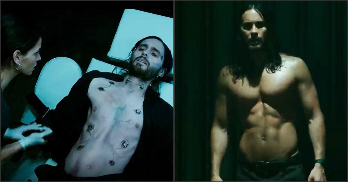 """Jared Leto è """"Morbius"""", il vampiro vivente: il primo trailer del film"""