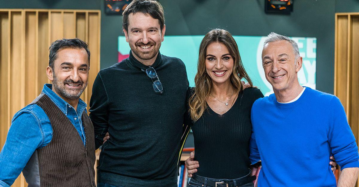 Sara Brusco e Marco Cattaneo, ecco il primo quiz sportivo della storia di Sky