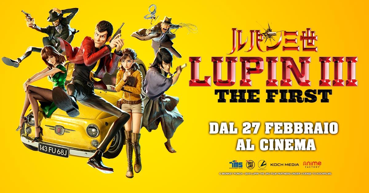 LUPIN III – The First, dal 27 febbraio il ladro gentiluomo torna a rubarvi il cuore (al cinema)