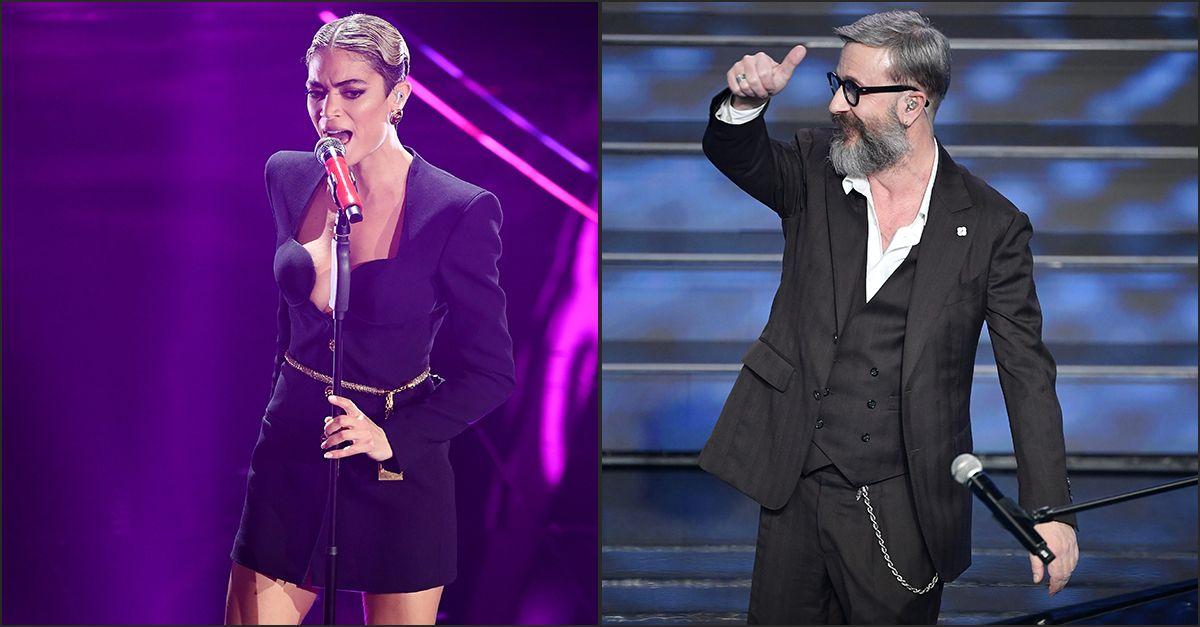 """""""Mi ha detto più volte 'Mangia!'"""": Elodie conferma la lite con Marco Masini a Sanremo"""