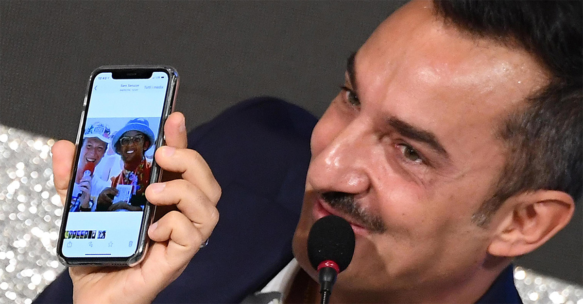 """Sanremo, aspettando """"L'Altro Festival"""":  Nicola Savino in conferenza stampa"""