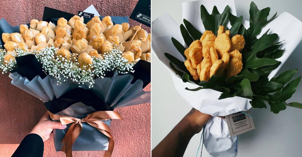 Stanche di ricevere fiori per San Valentino? Quest'anno chiedete un bouquet di nuggets