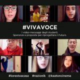 #VIVAVOCE: nei video-messaggi dei ragazzi in quarantena le speranze e le proposte per il futuro. Partecipa anche tu!