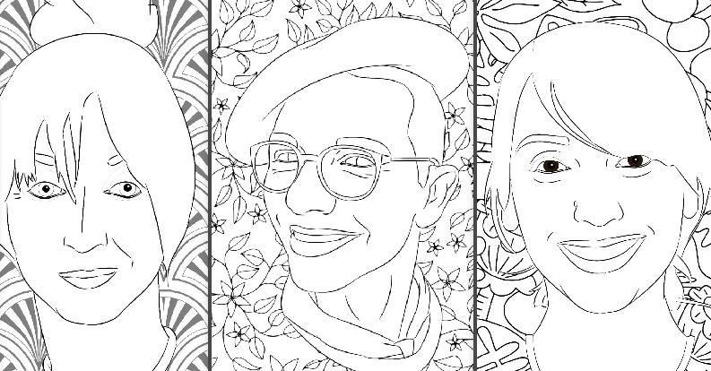 Il coloring book di Radio DEEJAY: ecco i ritratti da stampare e colorare!