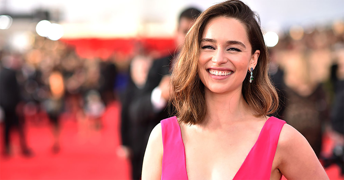 """Coronavirus, Emilia Clarke: """"Una cena virtuale con me se donate fondi per nuovi posti letto"""""""