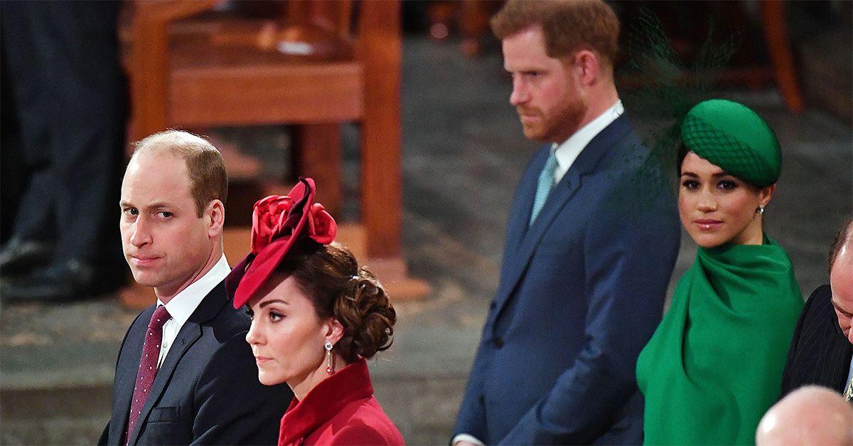 Harry e Meghan, ultima volta da reali: il freddo saluto a distanza con William e Kate