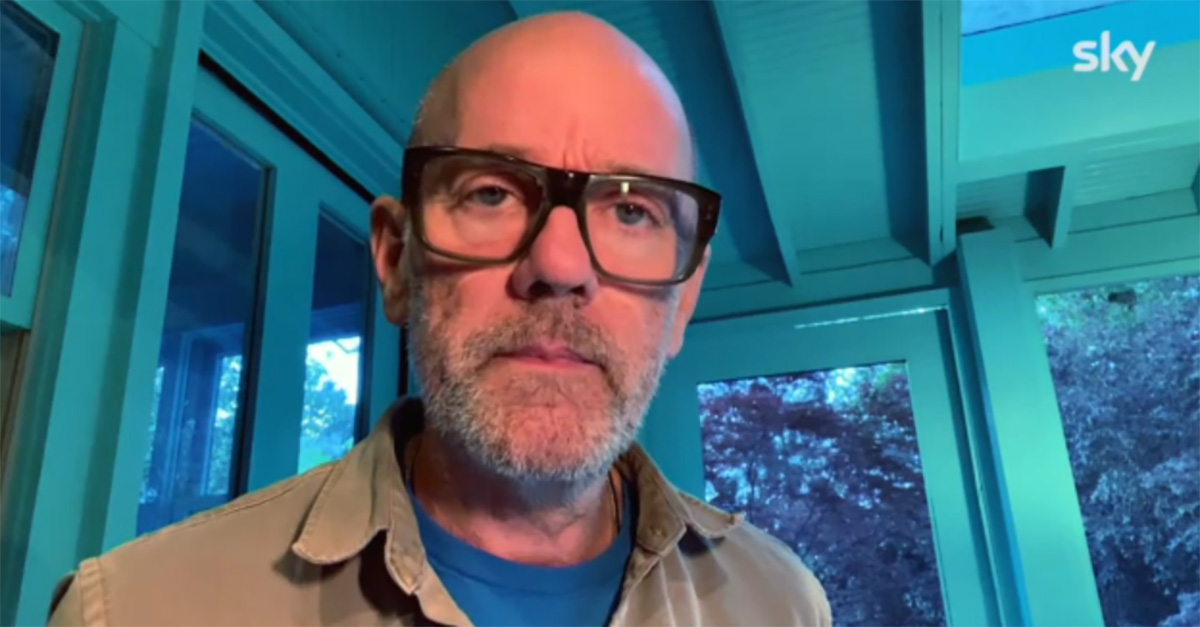 "EPCC Live, Michael Stipe canta il nuovo singolo: ""No Time For Love Like Now"""