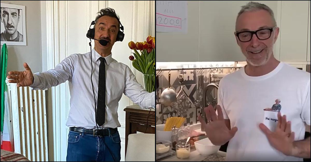 Deejay chiama Italia, Nicola Savino commenta la carbonara di Linus