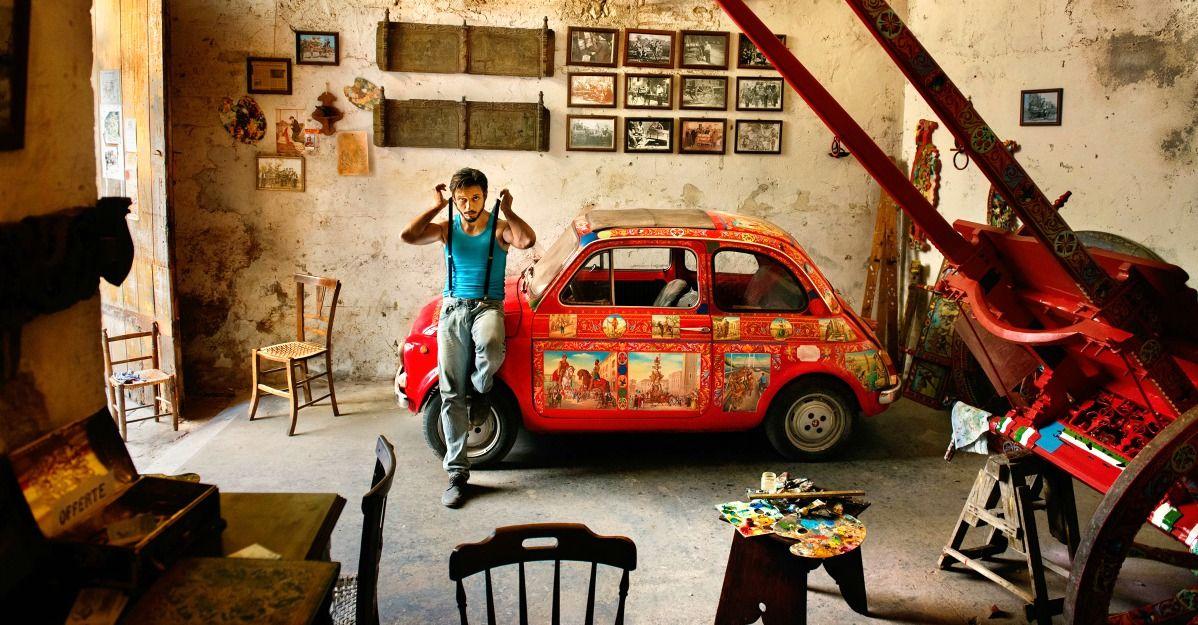 Meravigliosi scatti dell'Italia nel tributo del grande fotografo Steve McCurry