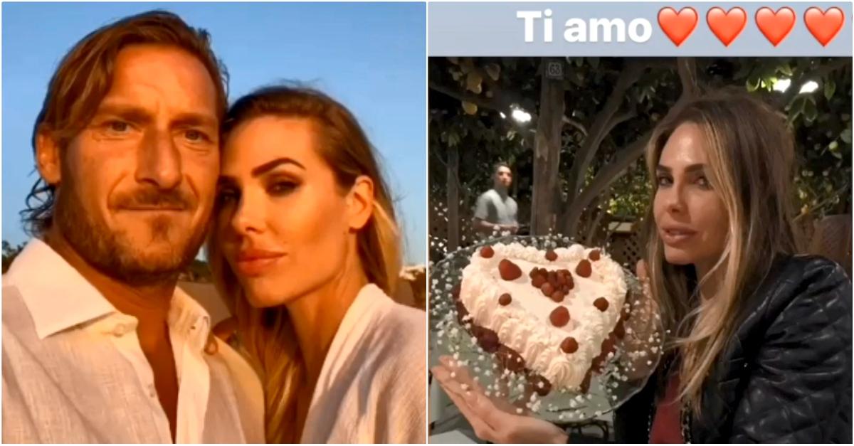 """Il romantico video di Totti per i 39 anni di Ilary Blasi: """"Auguri amore mio"""""""