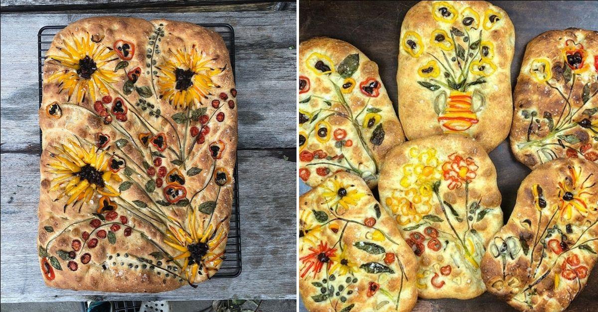 Le focacce diventano quadri di Van Gogh: la nuova sfida social