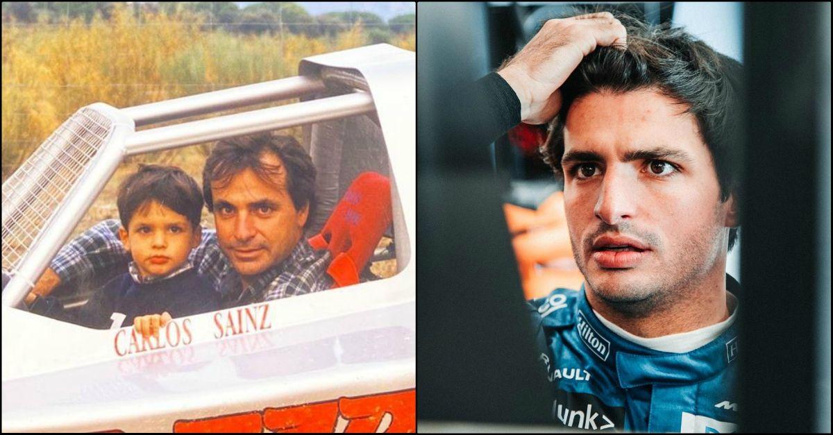 """Carlos Sainz: """"Avevo 11 anni quando decisi di diventare pilota come mio padre"""""""