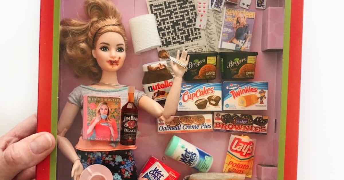 Barbie Quarantena, ecco le creazioni create da una mamma durante il lockdown