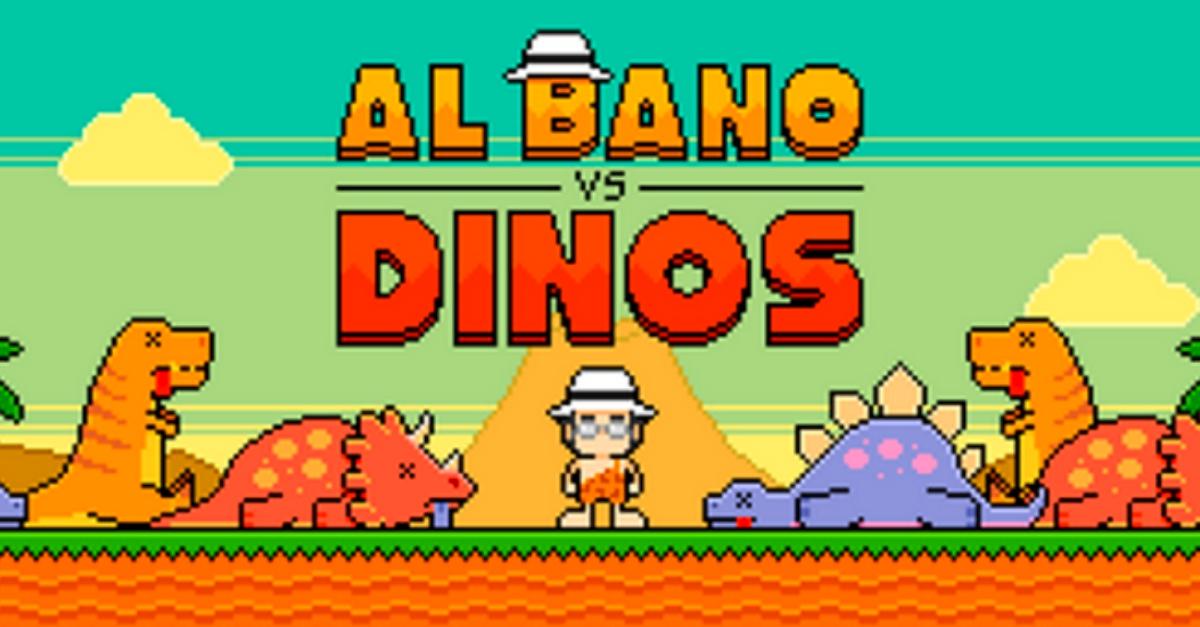 Spopola il videogame di Al Bano contro i dinosauri: gioca subito gratis